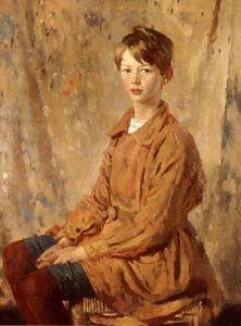 William Newenham Montague Orpen - Portrait Of Master Spottiswoode