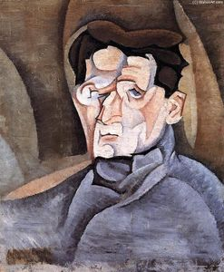 Juan Gris - Portrait of Maurice Raynal