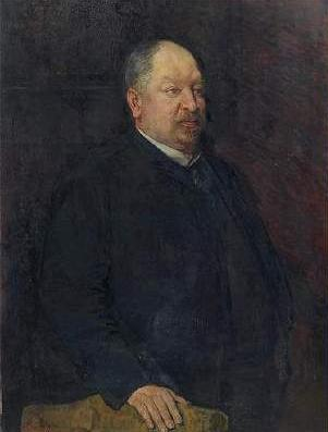 Portrait of Mr. Camille Laurent, 1884 by Theo Van Rysselberghe (1862-1926, Belgium) | WahooArt.com