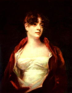 Henry Raeburn - Portrait of Mrs. Robert Scott Moncrieff