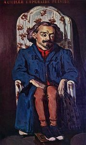 Order Museum Quality Reproductions : Portrait of the Painter, Achille Emperaire, 1868 by Paul Cezanne (1839-1906, France) | WahooArt.com