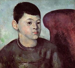 Paul Cezanne - Portrait of Paul Cezanne, the Artist-s Son