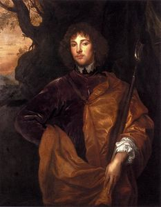 Anthony Van Dyck - Portrait Of Philip, Lord Wharton