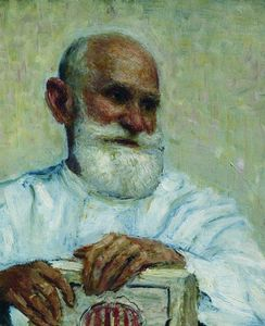 Ilya Yefimovich Repin - Portrait of the physiologist Ivan Petrovich Pavlov.
