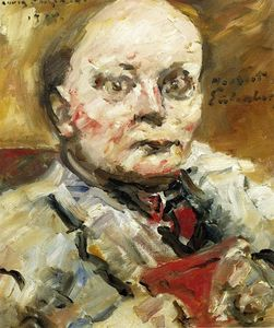 Lovis Corinth (Franz Heinrich Louis) - Portrait of the Poet Herbert Eulenberg