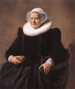 Frans Hals - Portrait of a Seated Woman