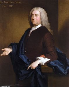Allan Ramsay - Portrait of Sir John Hynde Cotton, 3rd BT