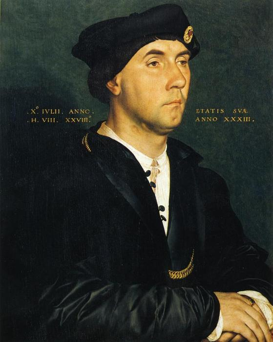 Portrait of Sir Richard Southwell, Oil On Panel by Hans Holbein The Younger (1497-1543, Italy)