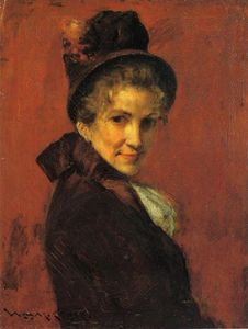 William Merritt Chase - Portrait of a Woman
