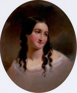 Thomas Sully - Portrait of a Woman, Sarah Byerly
