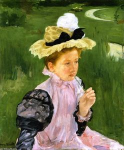 Mary Stevenson Cassatt - Portrait Of A Young Girl