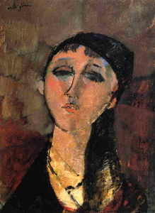 Amedeo Modigliani - Portrait of a Young Girl (also known as Louise)