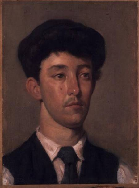Portrait of a Youth by William Newenham Montague Orpen (1878-1931, Ireland) | Painting Copy | WahooArt.com