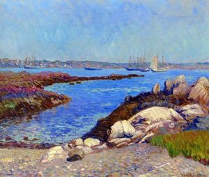 William James Glackens - Portsmouth Harbor, New Hampshire