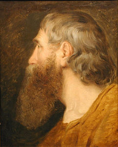 Friedrich Ritter Von Amerling - Potrait of a Bearded Man