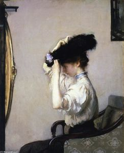 Edmund Charles Tarbell - Preparing for the Matinee