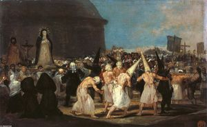 Francisco De Goya - Procession of Flagellants