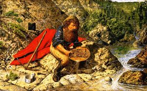 William George Richardson Hind - Prospecting for Alluvial Gold in British Columbia