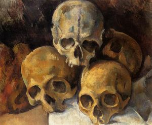 Paul Cezanne - Pyramid of Skulls