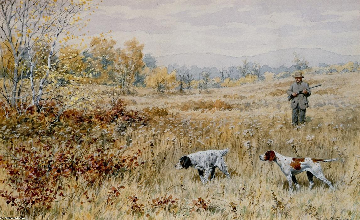 Quail hunting paintings - photo#19