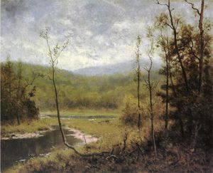 Alexander Helwig Wyant - Quiet Stream, Adironcack Mountains