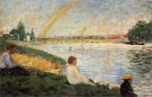Georges Pierre Seurat - Rainbow