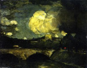 Robert Henri - The Rain Clouds (Paris)