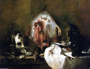 Jean-Baptiste Simeon Chardin - The Ray