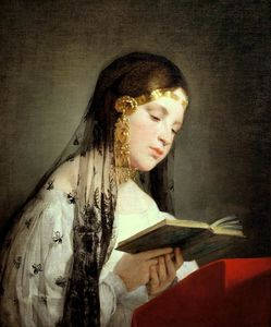 Friedrich Ritter Von Amerling - Reading Girl