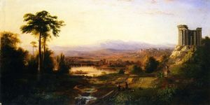 Robert Scott Duncanson - Recollections of Italy
