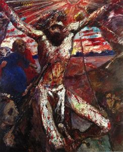 Lovis Corinth (Franz Heinrich Louis) - Red Christ