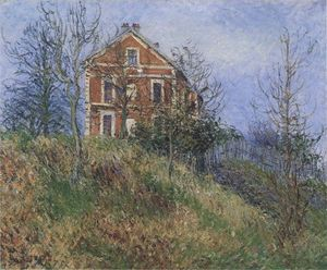 Gustave Loiseau - Red House near Port Marly