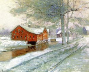 Lowell Birge Harrison - The Red Mill