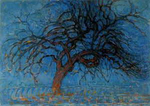 Piet Mondrian - Red Tree