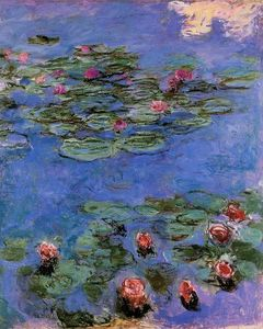 Claude Monet - Red Water-Lilies