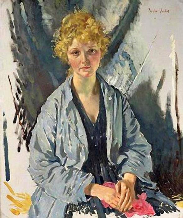 The Refugee by William Newenham Montague Orpen (1878-1931, Ireland)