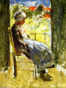 Robert Gemmell Hutchison - Resting in the Shade