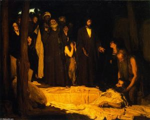 Henry Ossawa Tanner - The Resurrection of Lazarus