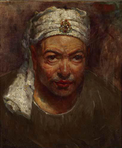 Retrato by Jose Navarro Llorens (1867-1923, Spain) | Museum Quality Copies Jose Navarro Llorens | WahooArt.com