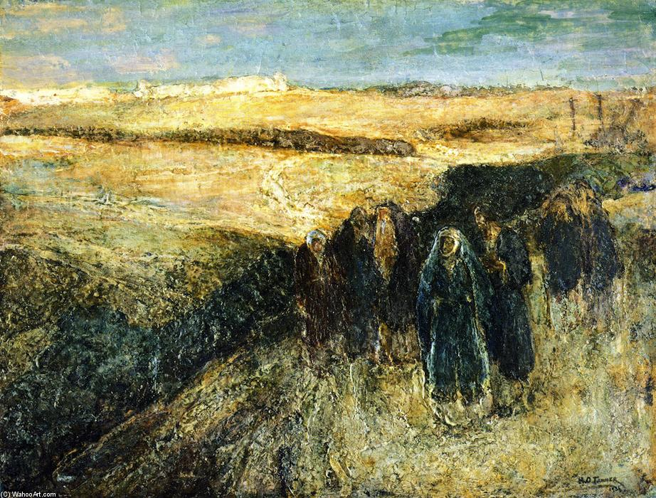 Return from the Crucifixion, 1936 by Henry Ossawa Tanner (1859-1937, United States) | Museum Quality Reproductions | WahooArt.com
