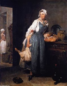 Jean-Baptiste Simeon Chardin - The Return from the Market