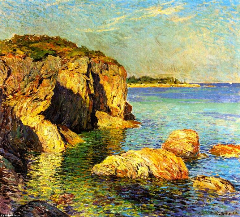 Order Oil Painting : Returning Tide, 1908 by Willard Leroy Metcalf (1858-1925, United States) | WahooArt.com