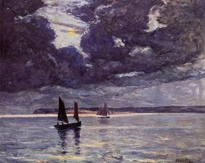 Maxime Emile Louis Maufra - The Return of the Fishing Boats