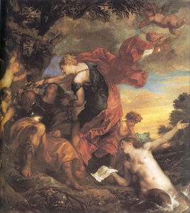 Anthony Van Dyck - Rinaldo and Armida