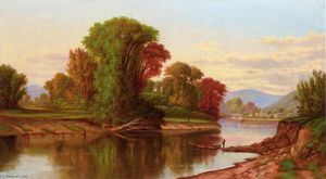 Robert Scott Duncanson - River Scene