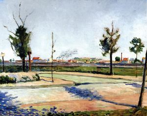 Paul Signac - The Road to Gennevilliers
