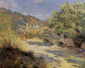 Claude Monet - The Road to Monte Carlo