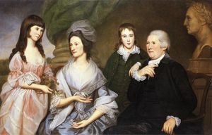 Charles Willson Peale - Robert Goldsborough and Family