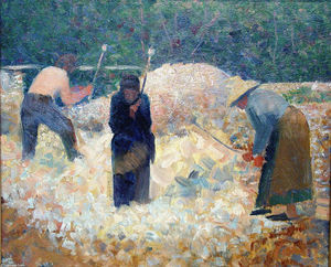 Georges Pierre Seurat - Rock-Breakers, Le Raincy