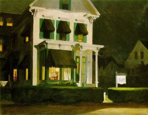 Edward Hopper - Rooms for Tourists - (Famous paintings)